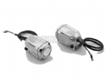 HAWK Off Road Spot Light Kit. Silver Projector Lamps, Switch & Harness. Pair NSW.00.004.10200/S